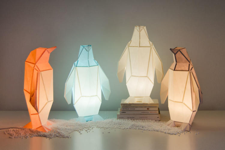 A collection of origami books recommended by Leyla Torres